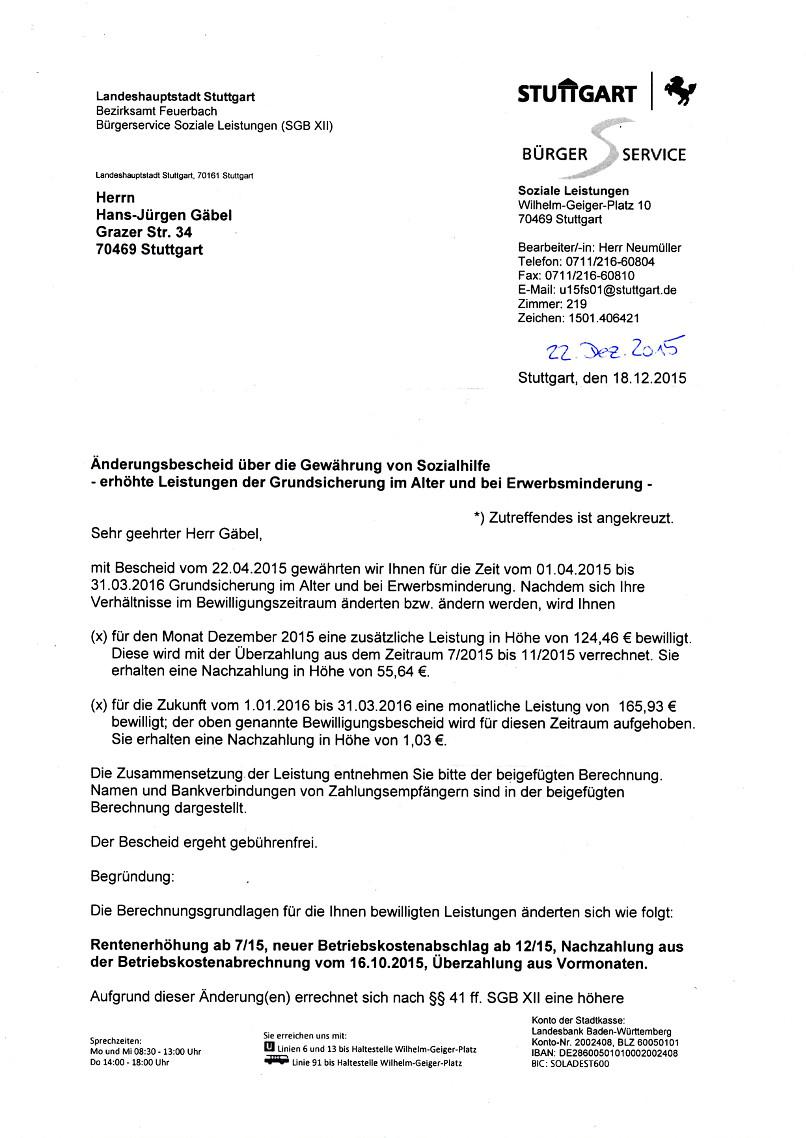 Grundsicherung Berechnen 2015 : insasse der brd 6n ~ Themetempest.com Abrechnung