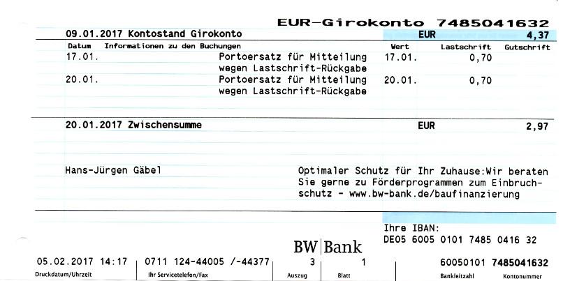 Blz Bw Bank Stuttgart